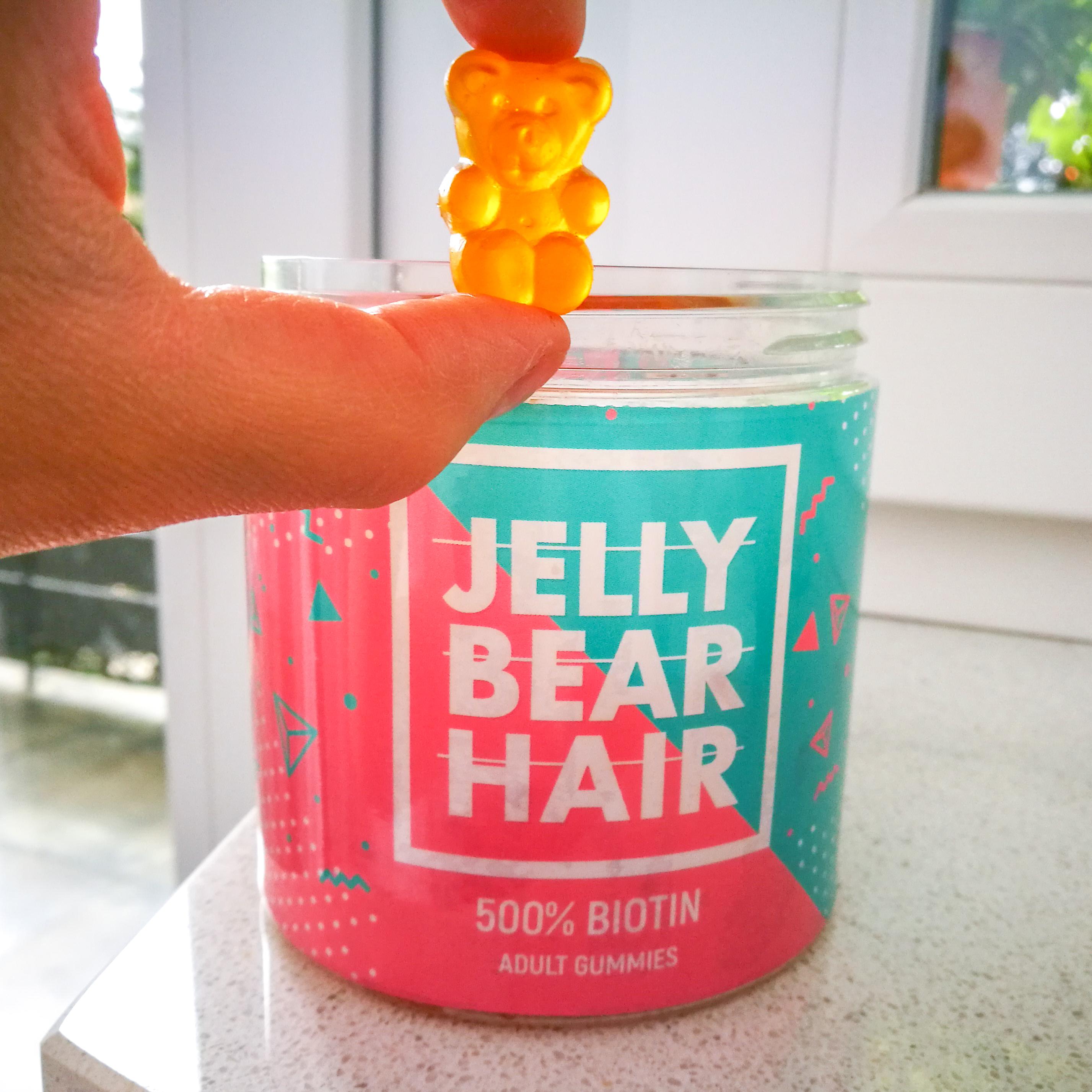 biotyna na włosy jelly bear hair