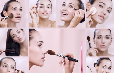 Akcesoria ułatwiające wykonanie makijażu