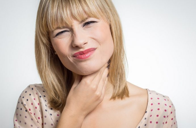 Czego objawem może być ból gardła?
