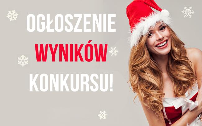 """Wyniki konkursu """"Zostań gwiazdą na Święta!"""""""