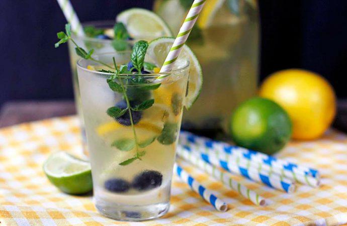 Lekki napój z zielonej herbaty