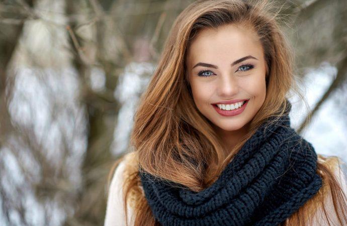 Zimowy makijaż dla jesiennego typu urody